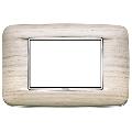 Rama ornament 3 module Wood White Oak Eikon Chrome