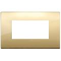 Rama ornament 4 module Metal Gold Vimar Arke