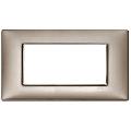 Rama ornament 4 module Metal pearl nickel