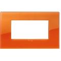 Rama ornament 4 module Reflex Orange Vimar Arke