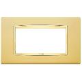 Rama ornament 4 module Satin Gold Eikon Chrome