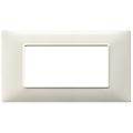 Rama ornament 4 module Tehnopolimer granite alb