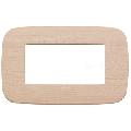 Rama ornament 4 module Wood Maple Vimar Arke