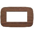 Rama ornament 4 module Wood Walnut Vimar Arke