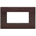 Rama ornament 4 module Wood Wenge Vimar Arke