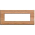 Rama ornament 7 module Larch Wood Vimar Arke