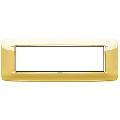 Rama ornament 7 module Polished Gold Eikon Chrome