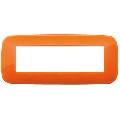 Rama ornament 7 module Reflex Orange Vimar Arke