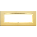 Rama ornament 7 module Satin Gold Eikon Chrome