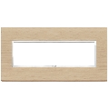 Rama ornament 7 module Wood White Oak Eikon Evo