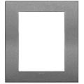 Rama ornament 8  module Metal Matt Slate Vimar Arke