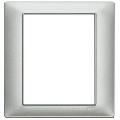 Rama ornament 8 module Tehnopolimer argintiu mat