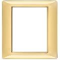 Rama ornament 8 module Tehnopolimer auriu lucios