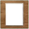 Rama ornament 8(4+4) module Wood Italian Walnut Eikon Evo
