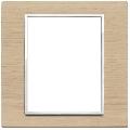 Rama ornament 8(4+4) module Wood White Oak Eikon Evo