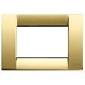 Rama ornament Classica 3 module auriu lucios Vimar Idea
