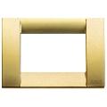 Rama ornament Classica 3 module auriu mat Vimar Idea