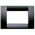 Rama ornament Classica 3 module negru Vimar Idea