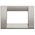 Rama ornament Classica 3 module titanium metalizat Vimar Idea