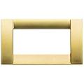 Rama ornament Classica 4 module auriu mat Vimar Idea