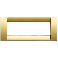 Rama ornament Classica 6 module auriu lucios Vimar Idea