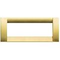 Rama ornament Classica 6 module auriu mat Vimar Idea