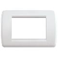 Rama ornament Rondo 3 module alb Vimar Idea