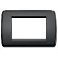 Rama ornament Rondo 3 module negru Vimar Idea