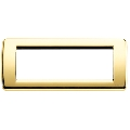 Rama ornament Rondo 6 module auriu lucios Vimar Idea