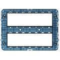 Rama suport 14 (7+7) module Vimar Arke
