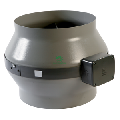 Ventilator VORTICE axial-centrifugal in-line CA 250 MD