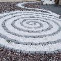 Mozaic Decorativ Marmura Ruschita Alb 14-32mm (Sac 50kg)