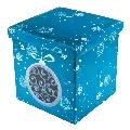Taburete Design 38 x 38 Snow Flakes