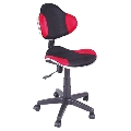 Scaun birou copii SL QG2 rosu - negru