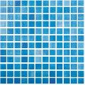 Mozaic albastru Niebla azul Celeste 25x25 mm
