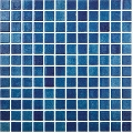 Mozaic albastru Niebla Azul Marino 25x25 mm