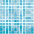 Mozaic albastru Niebla Azul Turquesa 25x25 mm