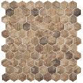 Mozaic hexagonal maro Royal Light/D Hex 35x35 mm