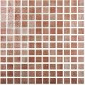 Mozaic maro Niebla Marron 25x25 mm