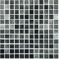 Mozaic negru Niebla Negro 25x25 mm
