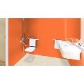 Covor PVC eterogen TARKETT pt trafic intens PRISMA Orange Stella 4