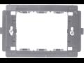 SUPORT APARAT 1 SAU 3MODULE (83mm), NEGRU  3203 STIL