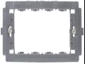 SUPORT APARAT 4 MODULE (108mm), NEGRU  3204 STIL