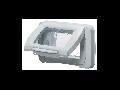 Placa ornament etansa 4 module alb Gewiss