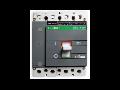 Intrerupator automat industrial tetrapolar, 3P+N, DAM 1H- 250, 140-200A, 65kA