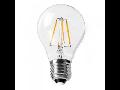 Bec LED Filament,4 w,E27,lumina calda,bulb sticla A60