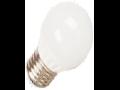 Bec cu LED-uri - 4W E27 G45 alb, VT-1830