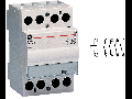 contactor modular Contax, 40A, 12V, CA/CC, 3 module, 4ND, Alb