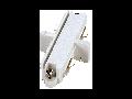 Accesoriu cupla longitudinala cu surub,1 faza,alb