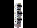 Separator vertical tripolar tip rigla, 3 manete  3P/NH 2, maxim 400A